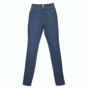 FASHION NOVA Stretch High-Rise Skinny Denim Jeans
